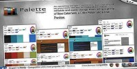 4 in 1 drupal switcher color theme 4