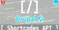 Api shortcodes 8 drupal for