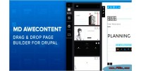 Awecontent md page drupal for builder