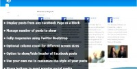 Block facebook page 8 plugin drupal for