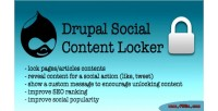 Content social drupal for locker