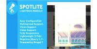 Drupal spotlite lightbox module