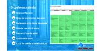 Event drupal calendar