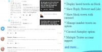 Feed twitter slider drupal for module