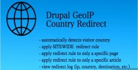 Geoip drupal redirect detect country