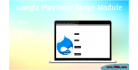 Google drupal shortcode badge playstore