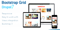Grid bootstrap drupal grid views 7