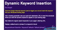Keyword dynamic insertion 8 for 7 drupal
