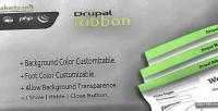 Ribbon drupal