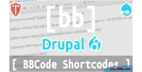 Shortcodes bbcode 8 drupal for
