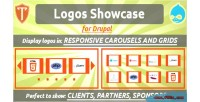 Showcase logos for drupal