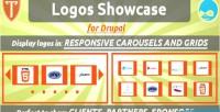 Showcase logos for drupal