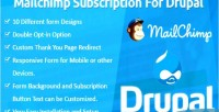 Subscription mailchimp for drupal