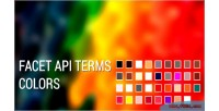 Terms facetapi color