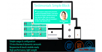 Testimonials drupal simple block