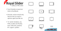 Touch royalslider content drupal for slider