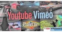Vimeo youtube palette