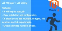 Jobs open manager extension 2 magento