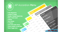 Accordion ap module joomla menu