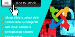 Security slidetounlock for joomla