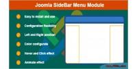 Sidebar joomla menu module