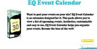 Event eq calendar