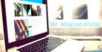 Advanced mk articles articles joomla for