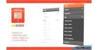 Bootstrap ap accordion module joomla menu