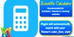 Calculator scientific for joomla