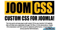 Custom joomla css joomcss
