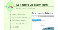 Dropdown jse joomla for menu