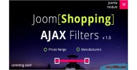 Ajax joomshopping filters