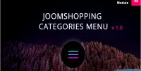 Categories joomshopping menu