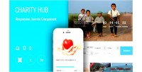 Hub charity extension donation joomla