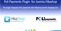 Payment poli plugin hikashop joomla for