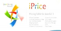 Responsive iprice pricing joomla for table