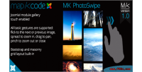 Photoswipe touch enabled gallery joomla for photoswipe