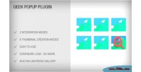 Popup geek plugin