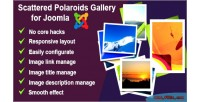 Scattered responsive polaroids joomla for gallery