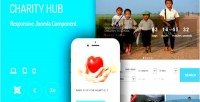 Hub charity extension donation joomla