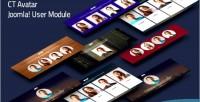 Joomla ctavatar user module