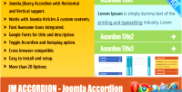Joomla jm accordion