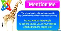 Me mention for website joomla