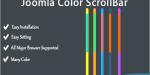 Color joomla scrollbar