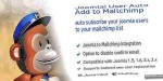 User joomla auto mailchimp to add