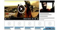 Jom webplayer a joomla extension gallery video