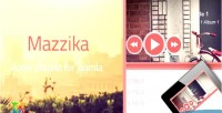 Music mazzika joomla playlist player