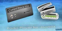 Player radio pro joomla for