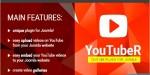 Unique video gallery plugin youtuber joomla for unique