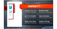 Panel side jt1 joomla for module